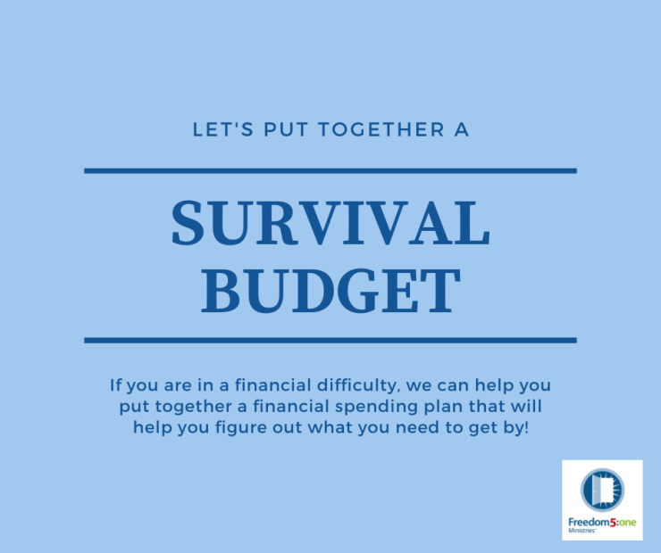 survival budget-fb