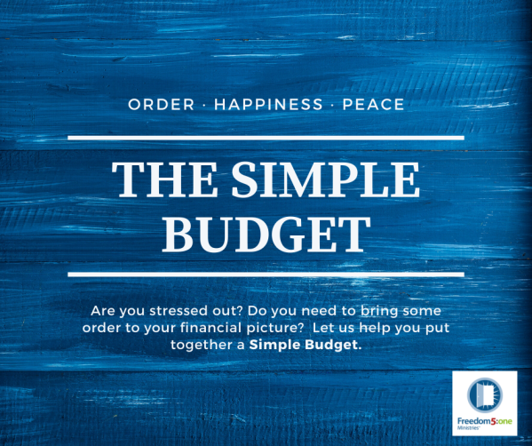 The Simple Budget- HOP