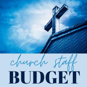 church staff Budget